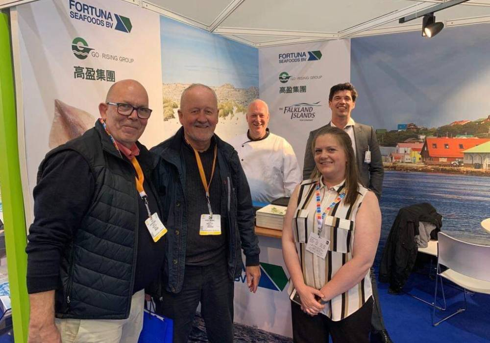 Fortuna stand at Brussels Seafood Expo 2019