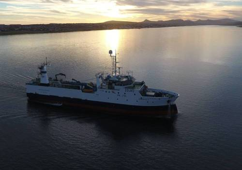 Monteferro enters service in South Atlantic.